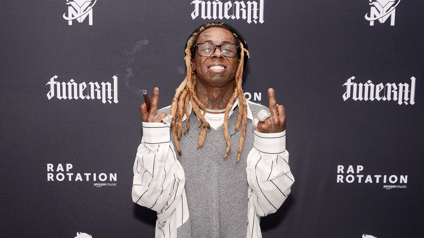 "Lil Wayne bei der Release-Party seines Albums ""Funeral"""