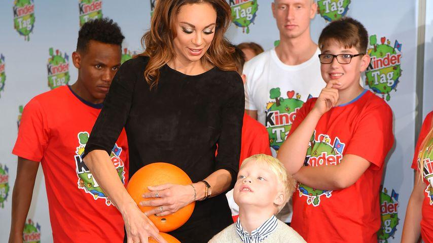 """Lilli Becker mit ihrem Sohn Amadeus beim """"Kindertag"""" in Köln"""