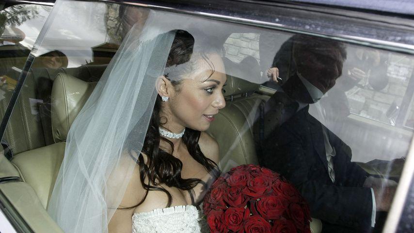 Lilly und Boris Becker bei ihrer Hochzeit im Juni 2009 in St. Moritz