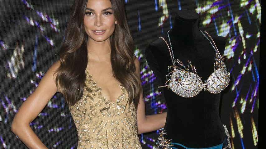 Für Victoria's Secret: Lily Aldridge mit Diamanten-Dessous