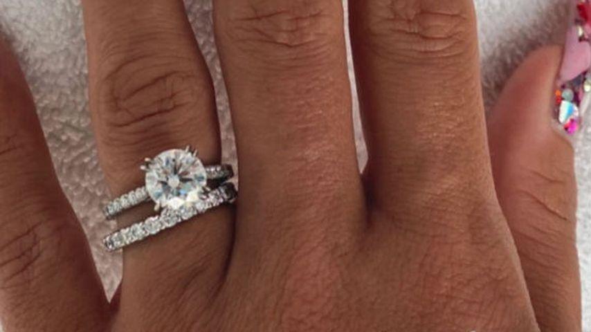 Lily Allens Verlobungs- und Ehering