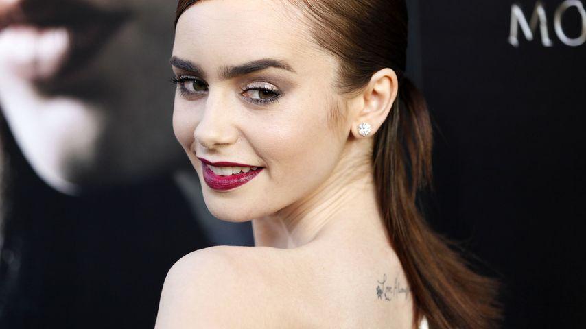 Spirituell - Das denkt Lily Collins über Tattoos