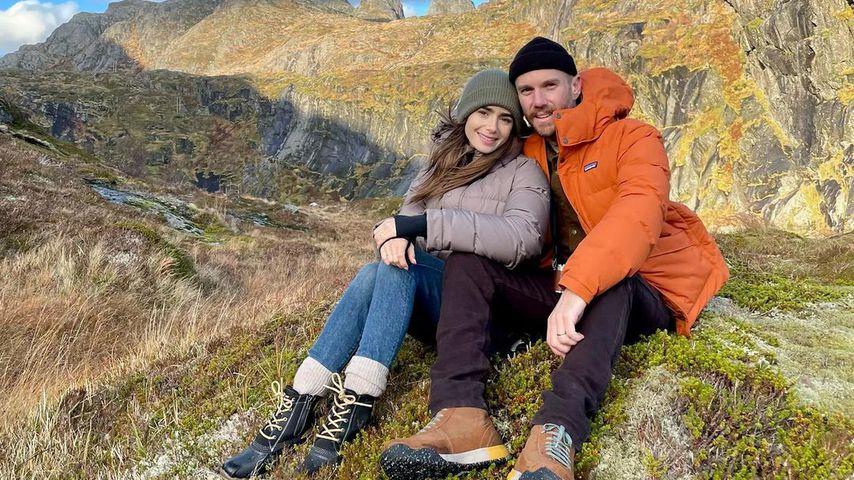 Lily Collins und ihr Ehemann Charlie McDowell