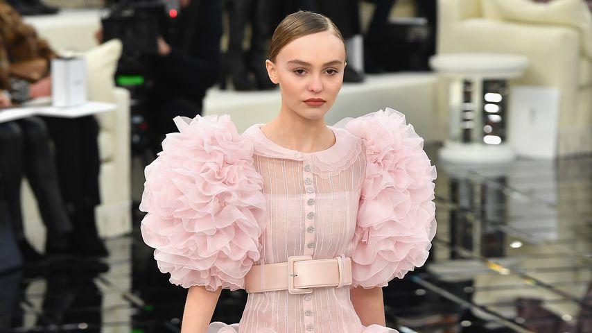 Lily-Rose Depp als Model für Chanel