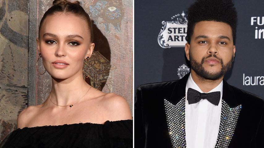 Neue Rolle: Lily-Rose Depp spielt an Seite von The Weeknd