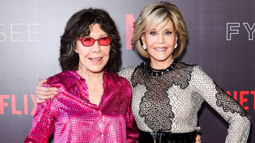 Lily Tomlin und Jane Fonda im Juni 2018
