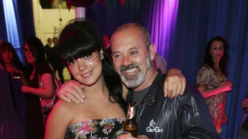 Lily und Keith Allen, 2007