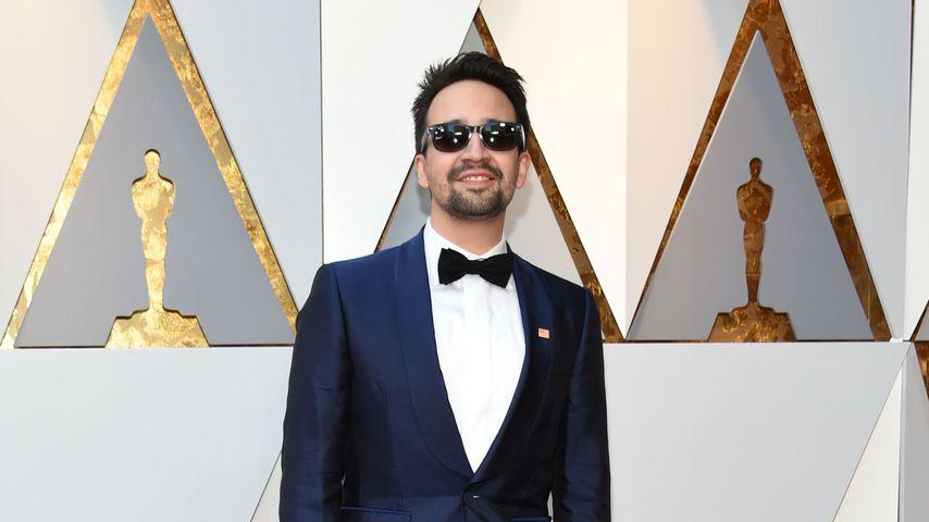 Lin-Manuel Miranda vor der Oscar-Verleihung in Hollywood