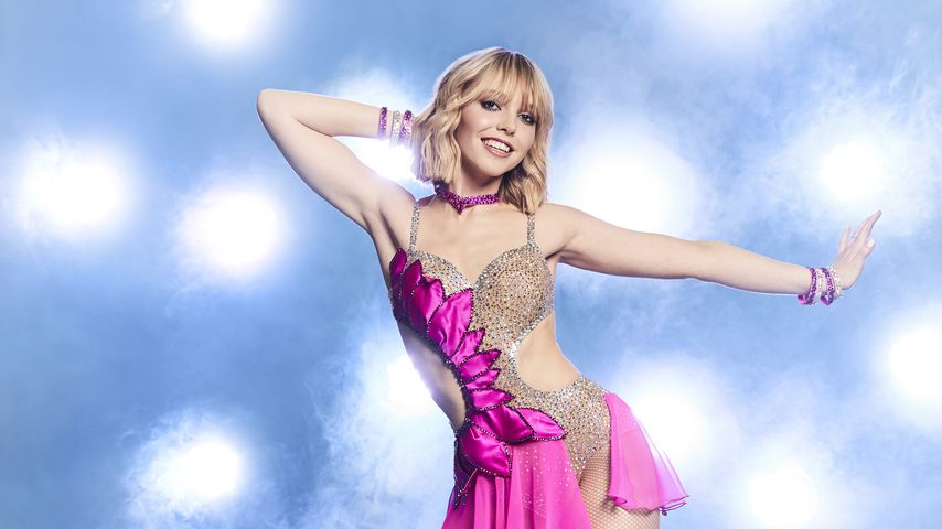 "Lina Larissa Strahl bei ""Dancing on Ice"""