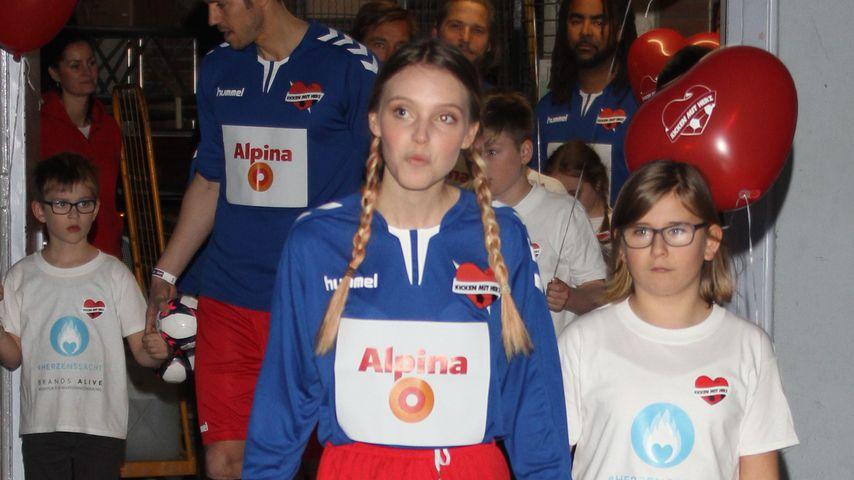 Lina Larissa Strahl bei Kicken mit Herz