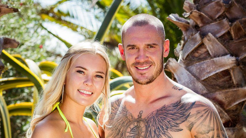 "Lina und Roman, ""Love Island""-Couple nach Tag 17"