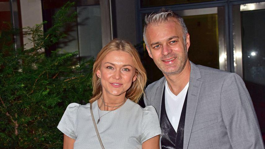 Linda Hesse und André Franke  beim 60. Geburtstag von Peter Wolf