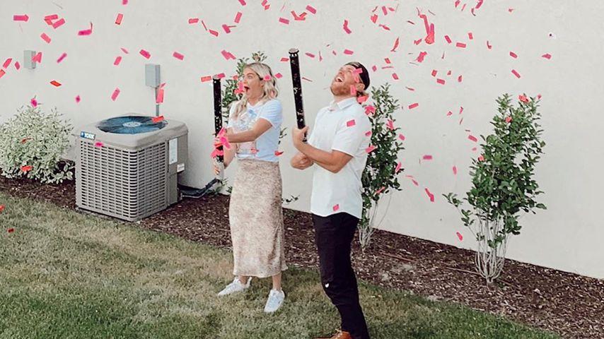 Lindsay Arnold und ihr Mann Sam, Mai 2020