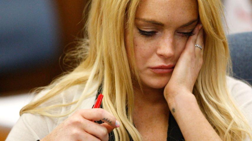 Lindsay Lohan 2010 vor Gericht
