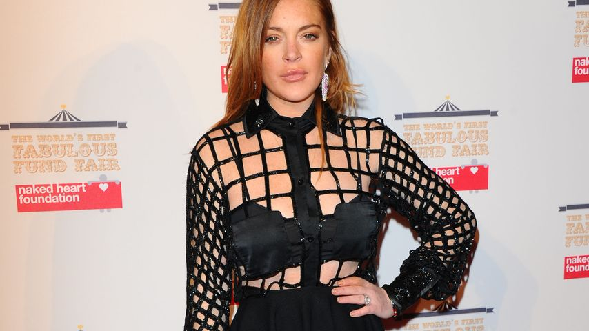 """Lindsay Lohan Bei der """"The World's First Fabulous Fund Fair in aid of The Naked Heart Foundation"""""""