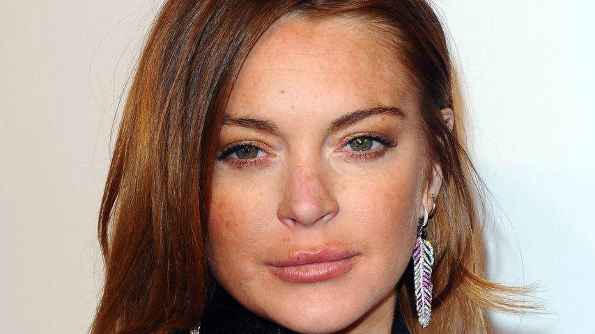 Lindsay Lohan auf einem Charity Event im Februar 2015 in London