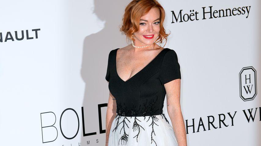 Comeback-Erfolg: Lindsay Lohan strahlend schön in Cannes