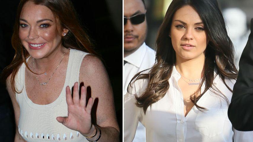 Gegen Lindsay: Mila Kunis versagt im Fan-Battle
