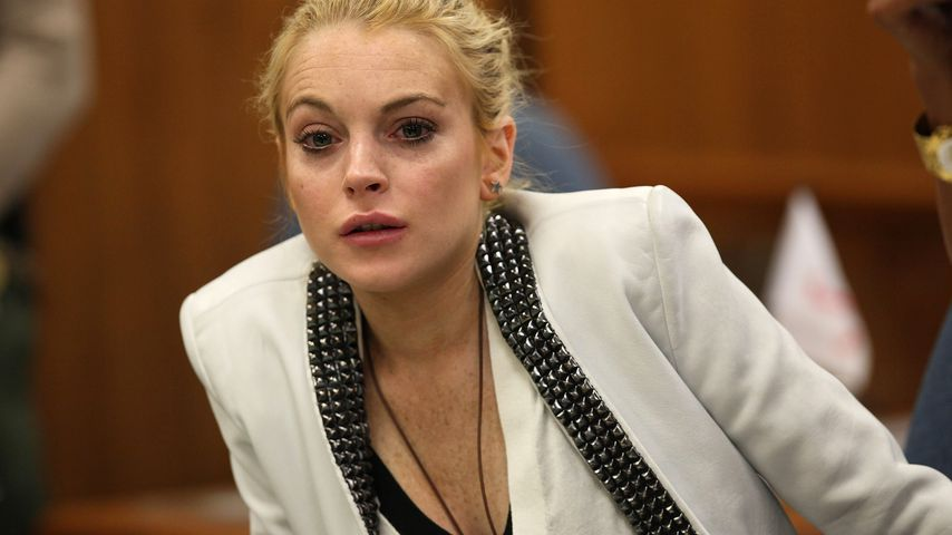 Lindsay Lohan vor Gericht in Beverly Hills im Oktober 2009