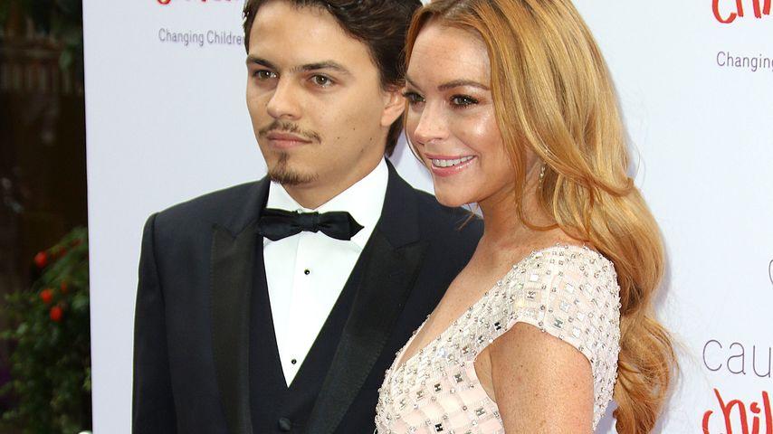 Zoff mit Lindsay Lohan: Egor schüttet ihr Drink ins Gesicht!