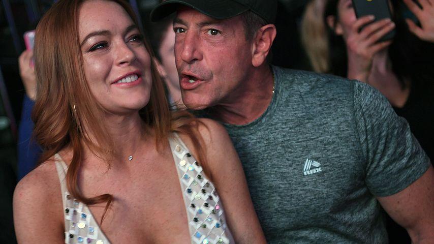 Per SMS: Michael Lohan droht Lindsays Verlobten mit Schlägen
