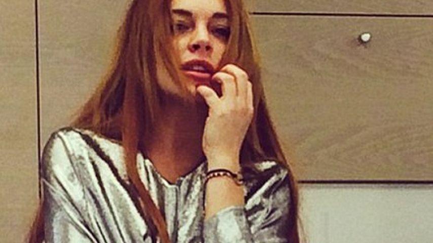 Sommersprossen-Alarm in Lindsay Lohans Schritt!