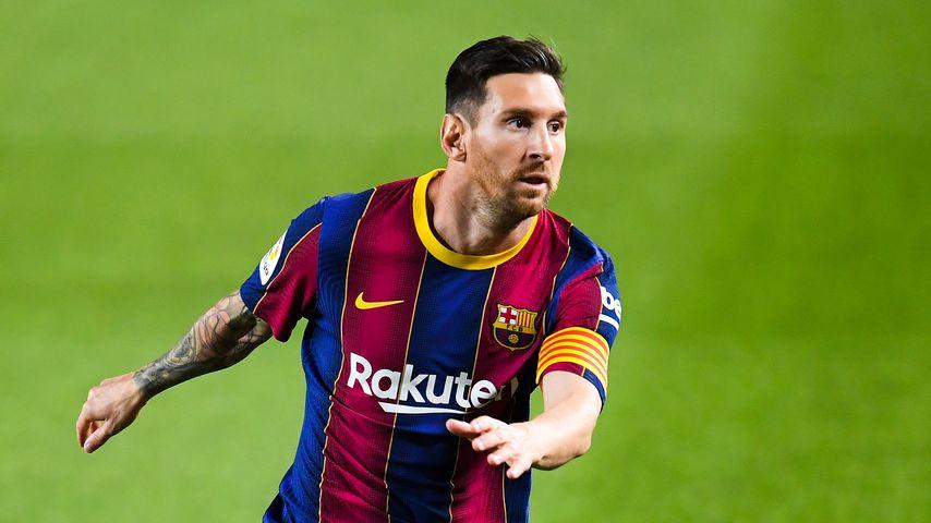 Lionel Messi im Oktober 2020 in Barcelona