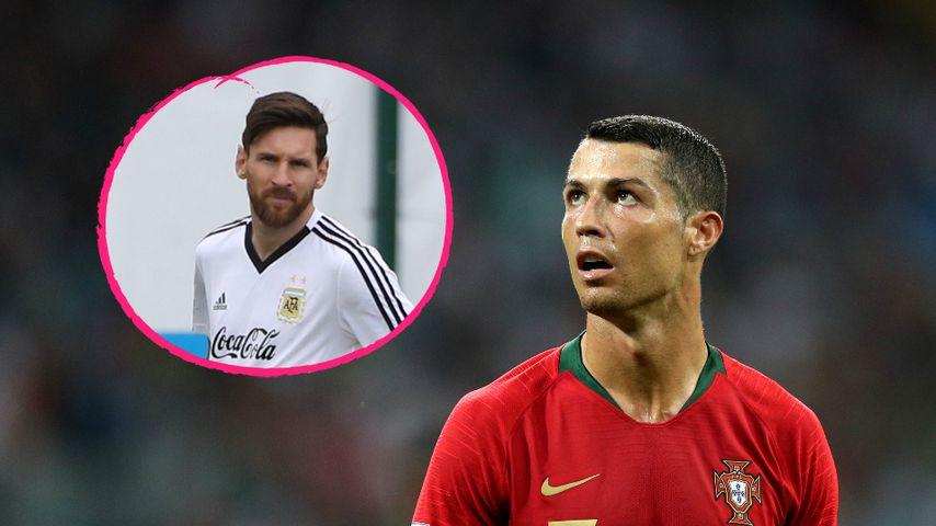 """Diss an Messi? Das steckt hinter Ronaldos """"Ziegen-Jubel"""""""