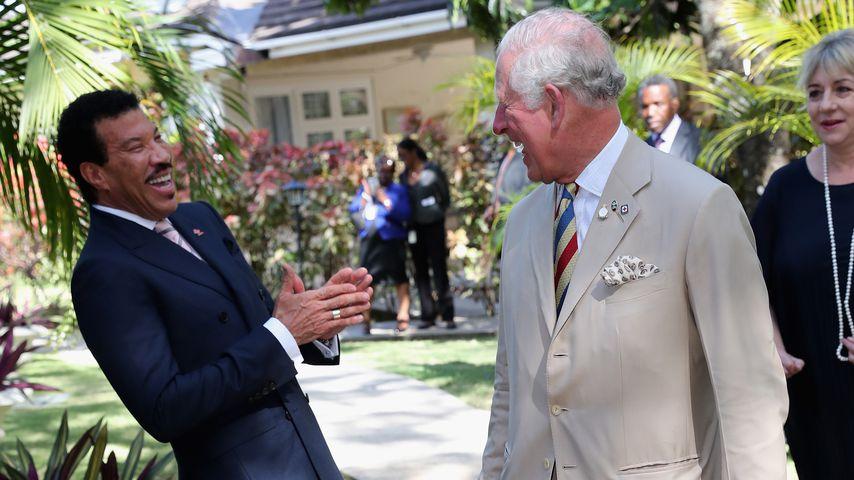 Lionel Richie und Prinz Charles für die The Prince's Trust im März 2019