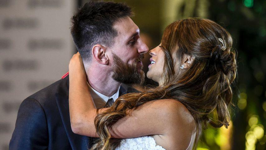 Heiße Clips: So wild tanzte Messi auf seiner Hochzeitsparty!