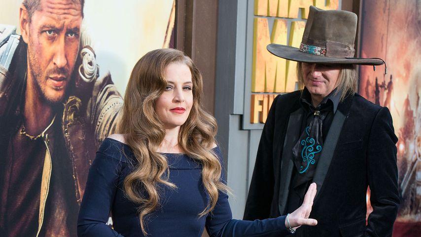 """Lisa Marie Presley und Michael Lockwood bei der """"Mad Max: Fury Road""""-Premiere in Los Angeles"""