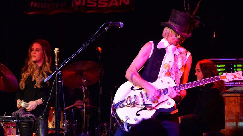 Lisa Marie Presley und Michael Lockwood beim Americana Music Festival & Conference - Festival, 2013