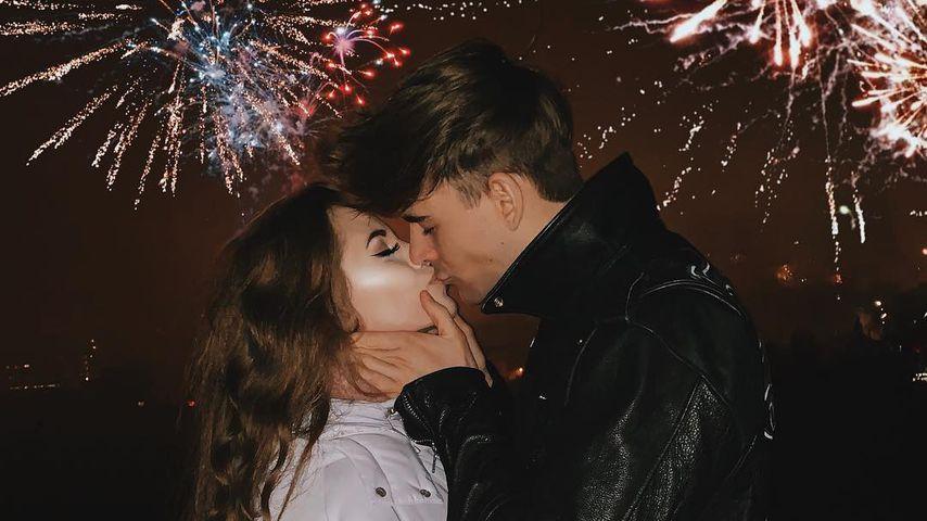 Lisa-Marie Schiffner und Moritz Garth an Neujahr 2019