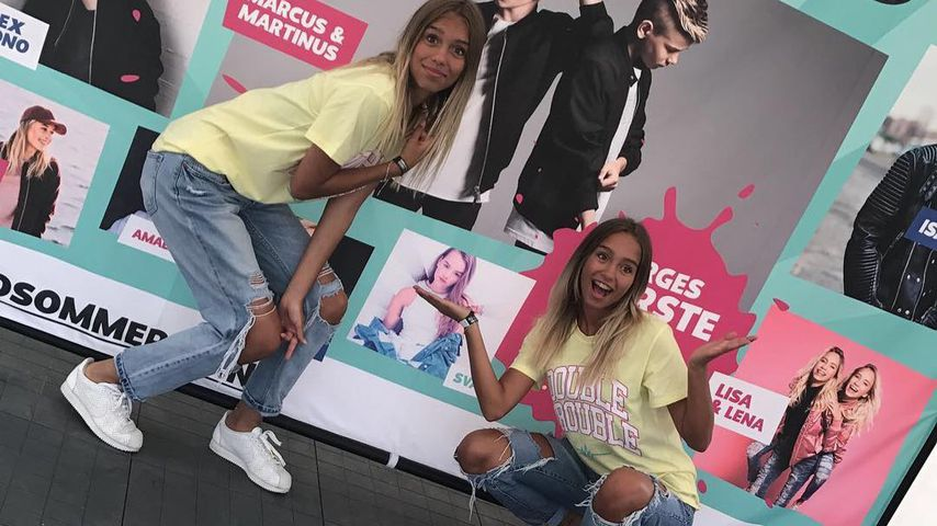 Lisa & Lena in Oslo: Bei Mega-Fan-Andrang werden sie nervös