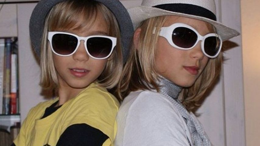 Lisa und Lena als Kinder