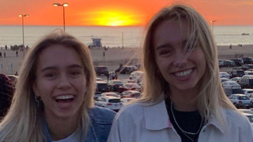 Lisa und Lena im Januar 2020