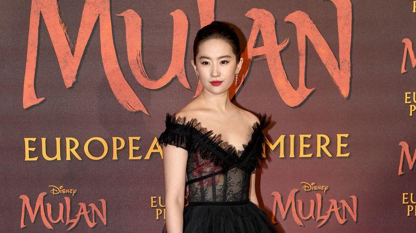 """Liu Yifei bei der Premiere von """"Mulan"""" in London"""
