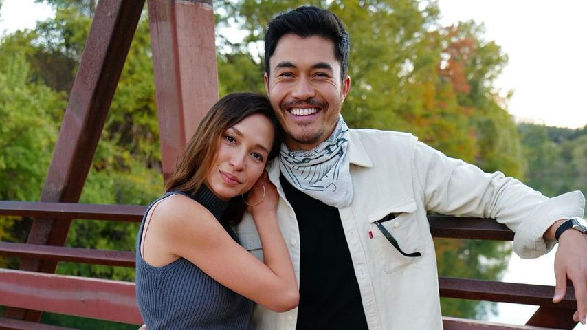 Liv Lo und Henry Golding im November 2020