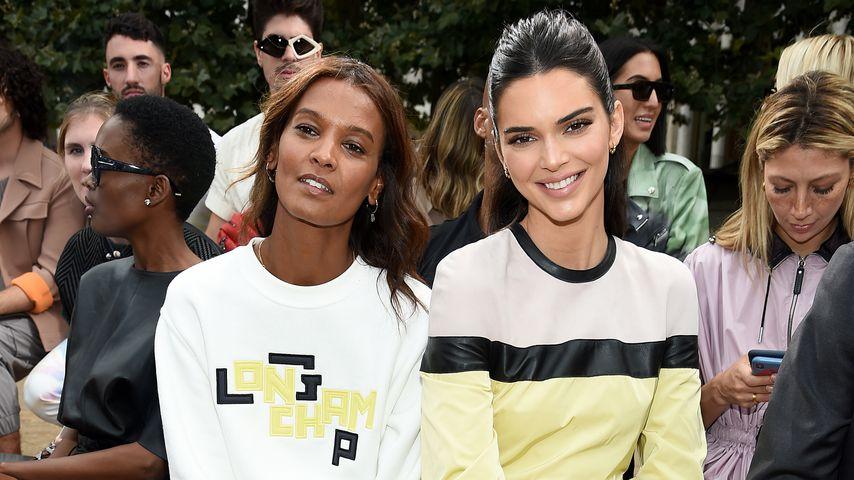 Liya Kebede und Kendall Jenner bei der New York Fashion Week