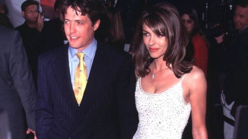 Hugh Grant und Liz Hurley