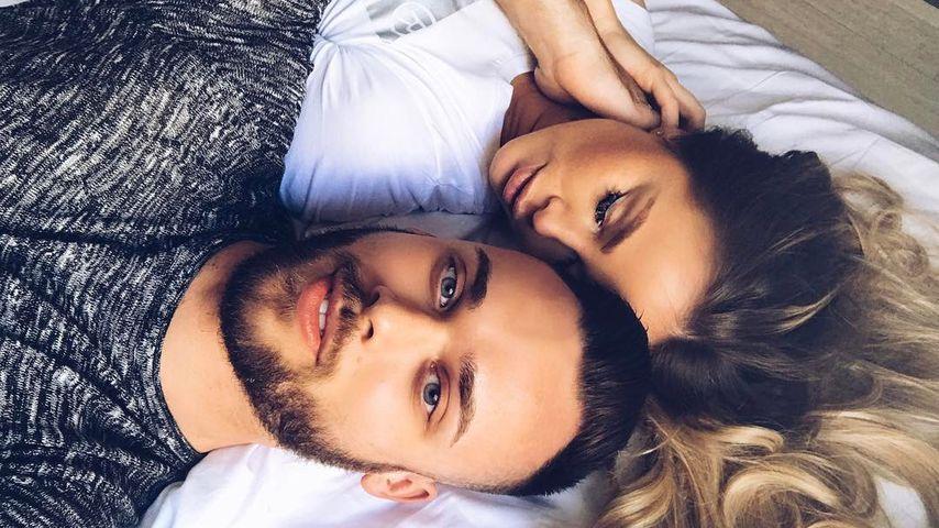 Nach Liebes-Outing: Liz Kaeber kuschelt mit Freund im Bett!
