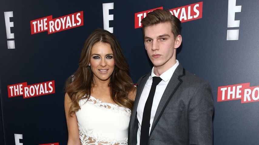 "Liz und Miles Hurley bei der ""The Royals""-Premiere in NYC"