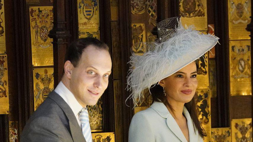 Lord Frederick Windsor und seine Frau Sophie Winkleman