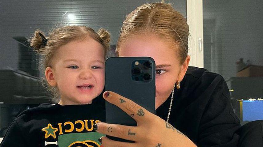 Loredana mit ihrer Tochter Hana
