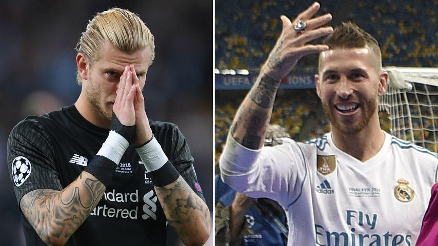 Karius' CL-Verletzung: Rivale Sergio Ramos macht sich lustig