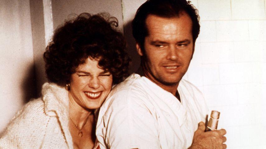 """Louisa Moritz und Jack Nicholson 1975 in """"Einer flog übers Kuckucksnest"""""""