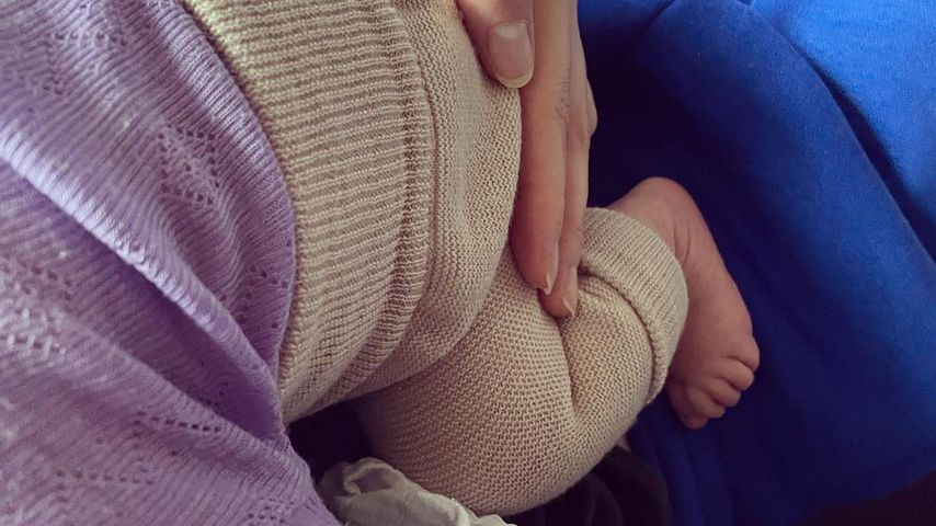 Luca Malaika, Toni Garrns Baby