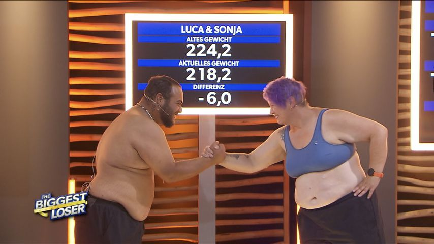 """Luca und Sonja bei """"The Biggest Loser"""""""