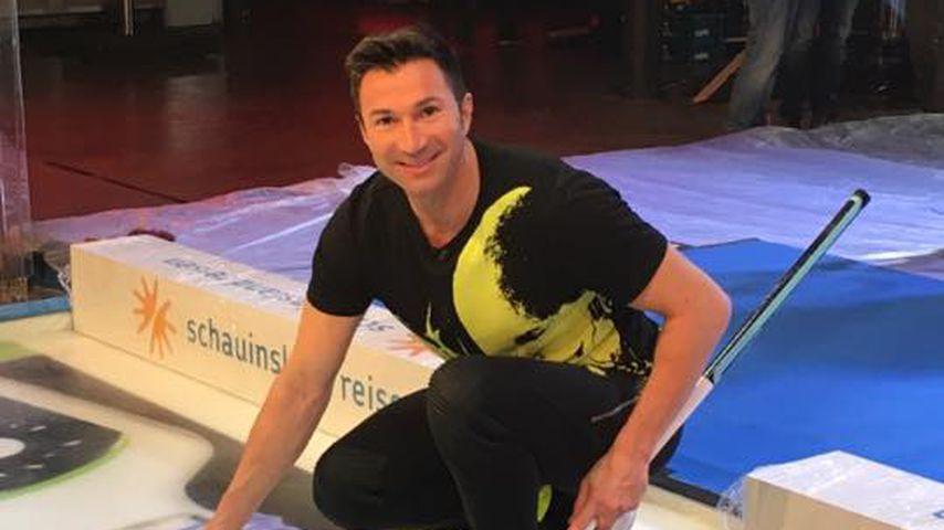 "Lucas Cordalis beim ""Großen RTL II Promi-Curling-Abend"" in Mönchengladbach"