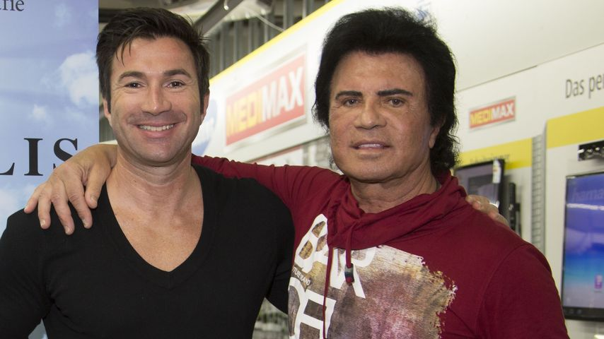 Lucas Cordalis mit Papa Costa
